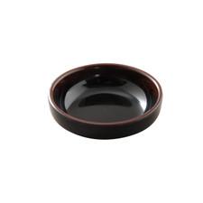 Tenmoku Melamine Plastic Flat Bowl (Price By DZ)