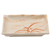 Gold Orchid Melamine Plastic Otsumami Plate (Price By DZ)
