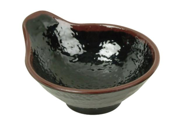 Image of Tenmoku Melamine Plastic Tempura Sauce Bowl (Price By DZ)