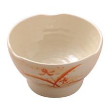 Gold Orchid Melamine Plastic Zensai Bowl (Price By DZ)