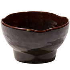Tenmoku Melamine Zensai Bowl (Price By DZ)