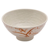 Gold Orchid Melamine Plastic Ochawan Rice Bowl (Price By DZ)
