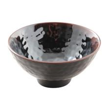 Tenmoku Melamine Plastic Ochawan Rice Bowl (Price By DZ)