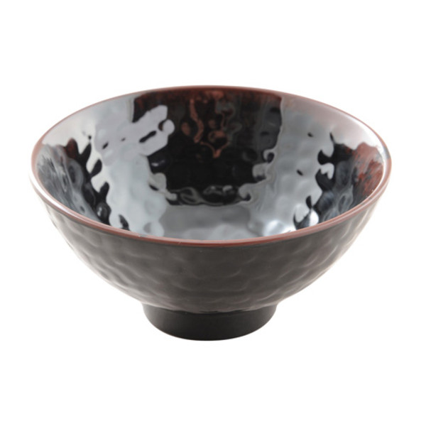 Image of Tenmoku Melamine Plastic Ochawan Rice Bowl (Price By DZ)