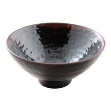 Tenmoku Melamine Plastic Donburi Rice Bowl (Price By DZ)