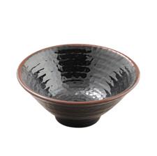 Tenmoku Melamine Plastic Donburi Soba Bowl (Price By DZ)