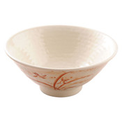 Gold Orchid Melamine Plastic Donburi Soba Bowl (Price By DZ)
