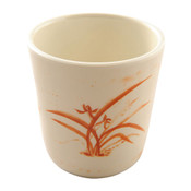Gold Orchid Melamine Plastic Mug (Price By DZ)