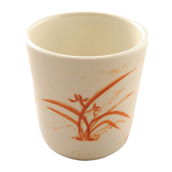 Image of Gold Orchid Melamine Plastic Mug (Price By DZ)