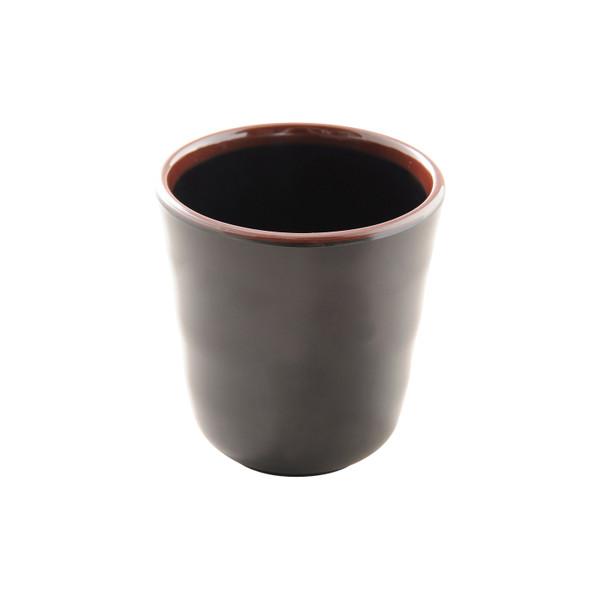 Image of Tenmoku Black Melamine Teacup (Price By DZ)