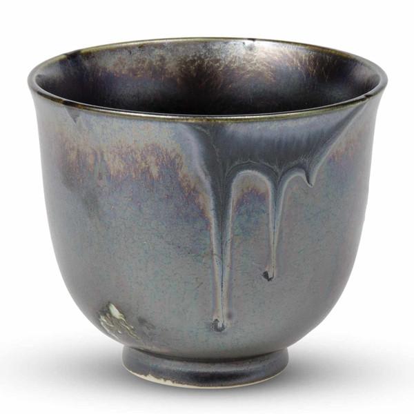 Image of Bronze Grazed Tea Cup 1