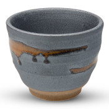 Unglazed Gray Tea Cup