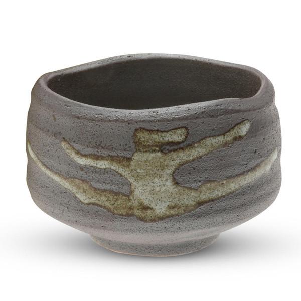 Image of Graphite Gray Round Matcha Bowl