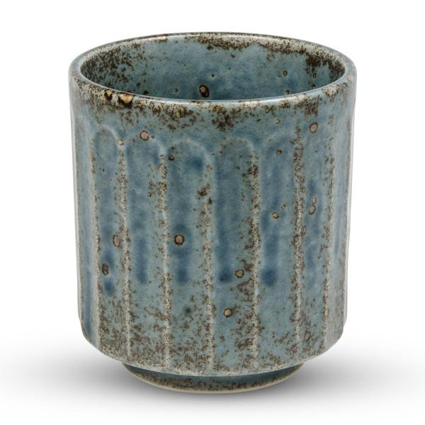 Image of Cornflower Blue Teacup 1