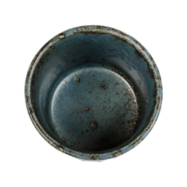 Image of Cornflower Blue Teacup 2
