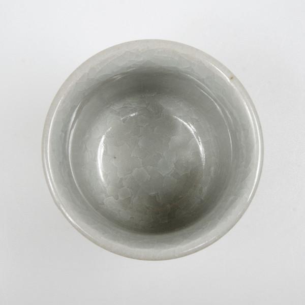 Image of Kikou White Crackled Teacup 2