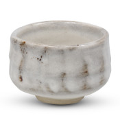 Kinu Gray White Matcha Bowl