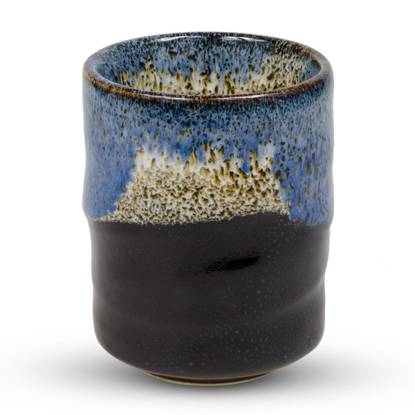 Image of Tenme Blue Black Teacup 1