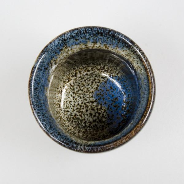 Image of Tenme Blue Black Teacup 2