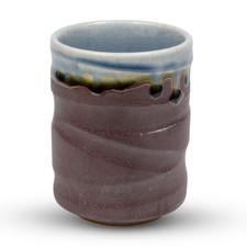 Raiun Gray Blue Metallic Teacup