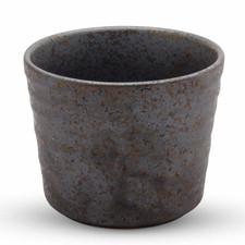Miroku Black Round Soba Cup