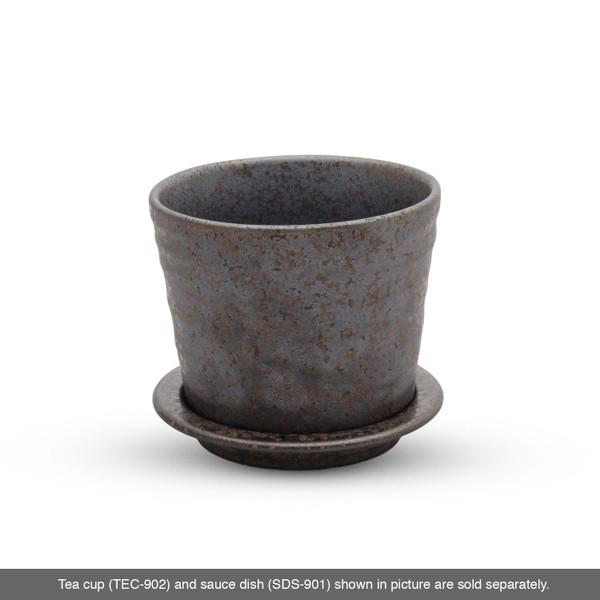 Image of Miroku Black Round Soba Cup 3
