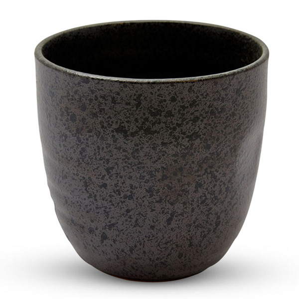 Image of Black Moss Patterned Tea Cup