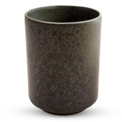 Black Moss Patterned Tea Cup