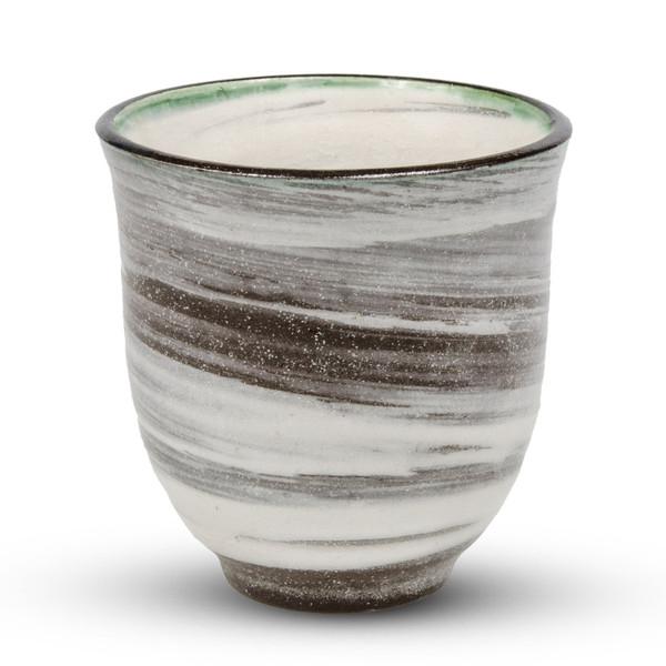 Image of Kohiki Dark Gray Teacup 1