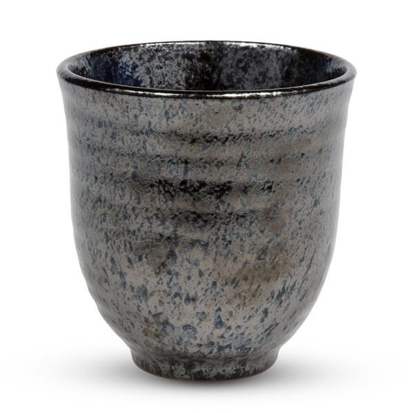 Image of Black Alloy Teacup 1
