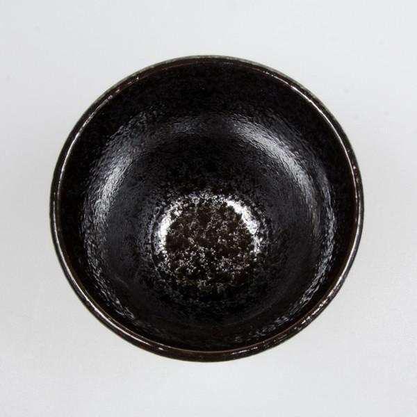 Image of Black Alloy Teacup 2