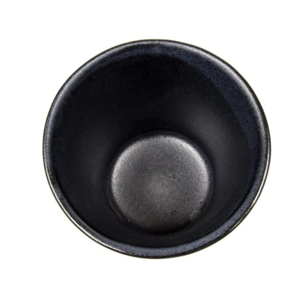 Image of Gray Spiral Teacup 2