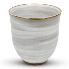 Kohiki Gray Round Tea Cup