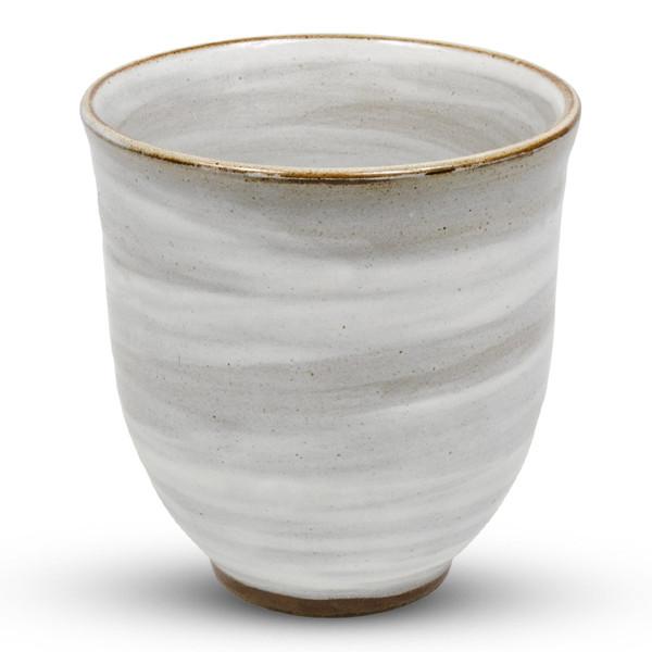 Image of Kohiki Gray Round Tea Cup 1