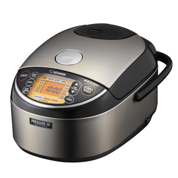 Image of Zojirushi NP-NWC10 Induction Heating Pressure Rice Cooker & Warmer 5.5 Cups 1
