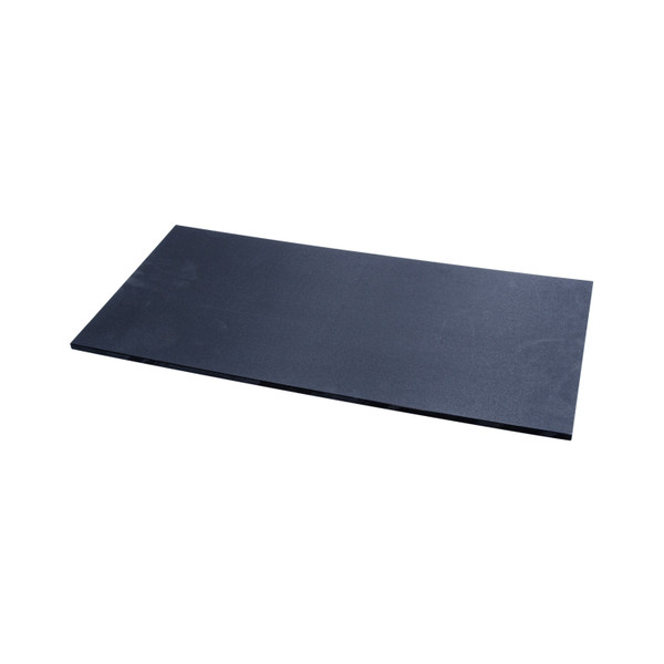 Image of Tenryo Black Textured and Slip Resistant Polyethylene Cutting Board