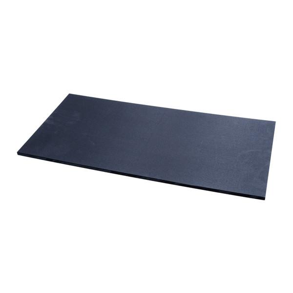 Image of Tenryo Black Textured and Slip Resistant Polyethylene Cutting Board