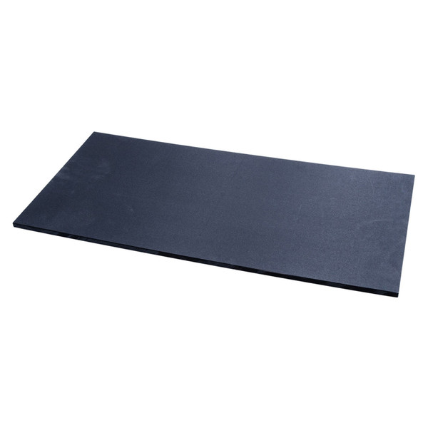 Image of Tenryo Black Slip Resistant Polyethylene Cutting Board
