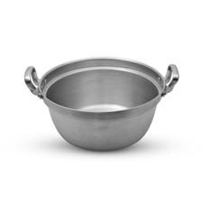 """Aluminum Cooking Pot Entsuki Nabe 18""""Dia"""