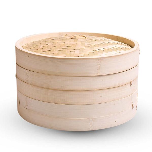 "Image of Bamboo Steamer 8"" (20 cm) 1"