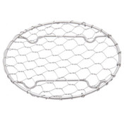 """Round Stainless Net Plate 3.5""""Dia"""