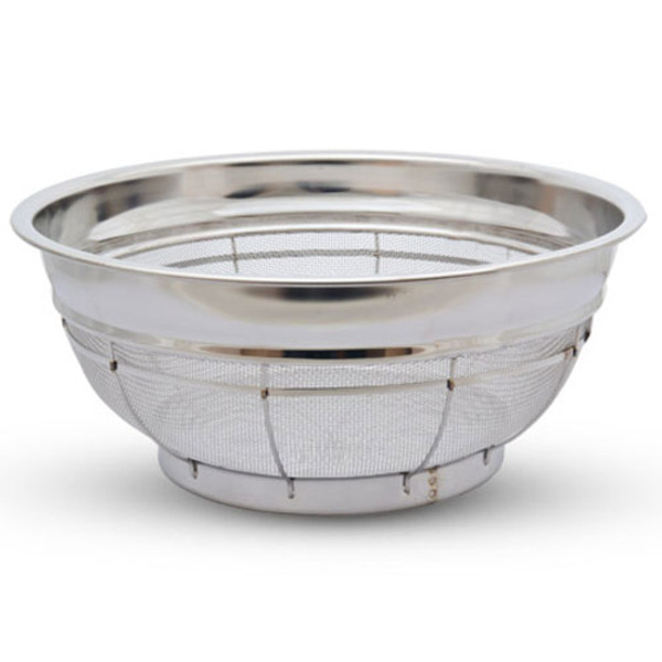 Image of Stainless Shallow Colander 2