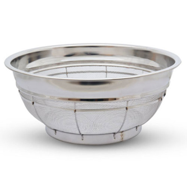 Image of Stainless Shallow Colander 1