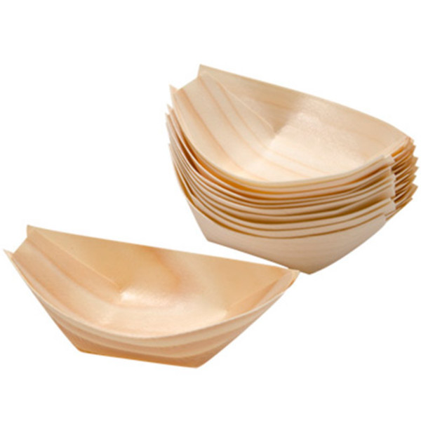 Image of Disposable Pine Boat 1