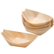 Disposable Pine Wood Boat
