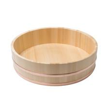 Cypress Wooden Rice Mixing Tub (Hangiri) - 39cm
