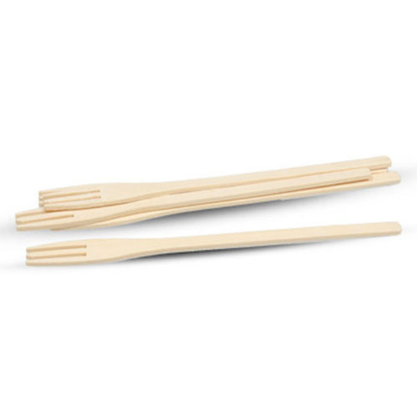 Image of Disposable Bamboo Fork Picks