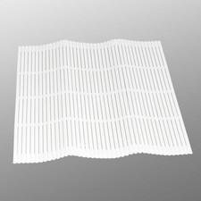 White Plastic Sushi Makisu Mat