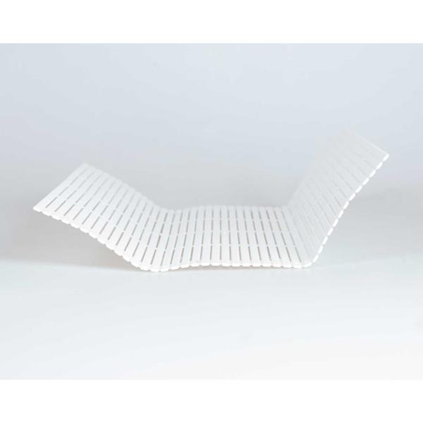 Image of White Plastic Sushi Makisu Mat 2