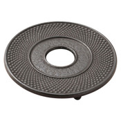 Black Cast Iron Round Trivet